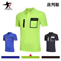 Athletics bird football referee short sleeve single shirt Team game development Jersey equipment professional referee shirt
