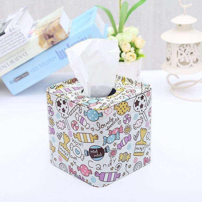 Iron roll paper tray paper towel box living room creative napkin tray home bathroom simple lovely home draw tray