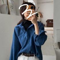 Chemise femme design sens niche automne 2020 nouveau Français étudiants manteau tempérament ample sur la marée de vêtements