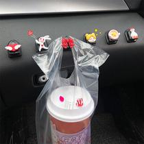 Car interior small hook Car front decoration supplies Daquan paste female cartoon seat back car hook
