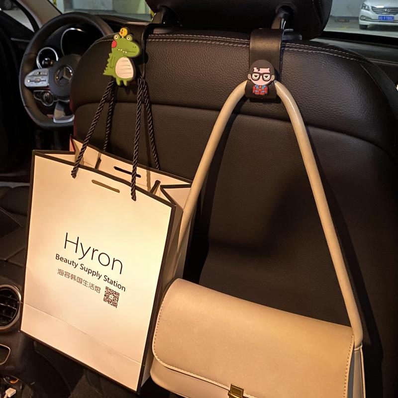 Автомобильный крюк со спинкой сиденья автомобиль с симпатичным многофункциональным задним автомобилем на нагрузке креативные интерьерные принадлежности Daquan