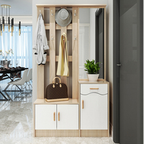 Coat Cabinet Foyer Cabinet hanger shoe cabinet integrated with mirror into the multi-functional gateway partition Change shoe Stool