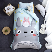 Kindergarten quilts three-piece Dragon cartoon cat children six pieces baby crib bedding mattress cotton jacket