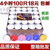 Candles 3-4-8 hours smokeless candles tea hotel KTV Romantic confession birthday Aromatherapy small Tea wax Wholesale