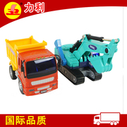 Children's toy car set beach shovel excavator engineering inertial dumpers forklift 3-6 years old male child