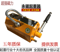 Permanent magnet crane 400 magnet 600 permanent magnet hoist 1 ton lifting 2t suction cup 3T magnetic crane KG Strong KG