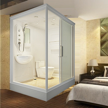 Overall shower room Overall toilet home all-in-one bathing room simple bath room mobile glass bathroom