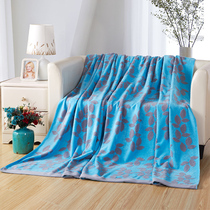 Covator cotton napkin by the leaves autumn and winter air conditioning room single double cotton blanket blanket nap blanket