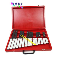 25-tone harp olf xylophone percussion Childrens early teaching instrument mahogany Aluminum plate Piano student musical instrument