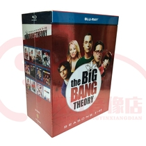 Life Big Bang Season 1-12 BD25G Blu-ray 24DVD Drama The Big Bang Theory Full Edition