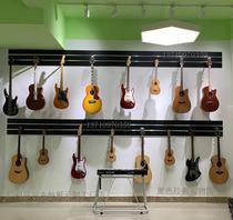 吉他槽板乐器展示架壁式钩葫芦丝琵琶新创挂板墙货柜精品琴行装饰