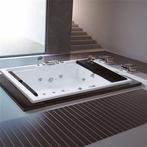 Acrylic Double Surf Jacuzzi home with embedded standalone couple 1.7 1.8 m Large tub