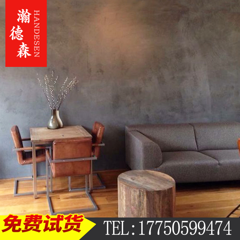 Henderson clear water concrete wall paint gray micro-cement art lacquer texture wall paint floor paint industry wind