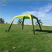 Domain exhibition tent outdoor large-scale shade rain to promote marketing activities one-in-one fast inflatable advertising tent
