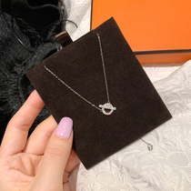 (sheii Su Yin Yin)Leakage neck ~ classic Q necklace female 925 silver(pay attention to the details)