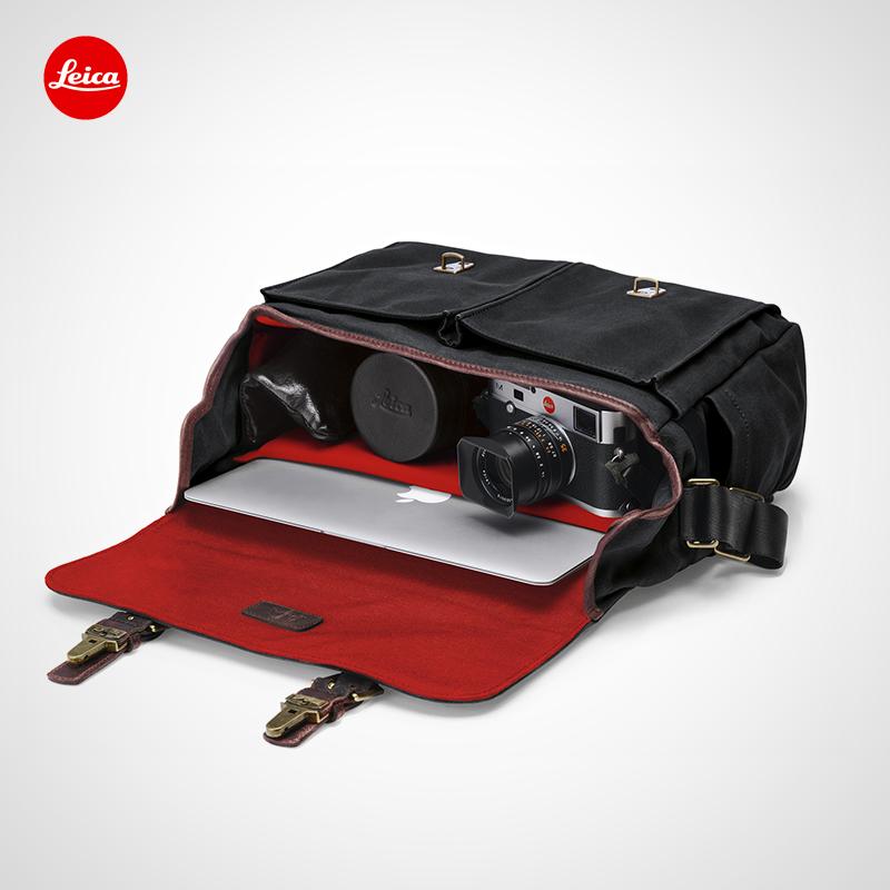 Leica Leica ONA Sac Brixton sac en toile noir 14913 brun 14914 gris 14915