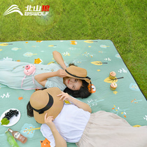 Picnic mat thickened outdoor field tent mat outing beach picnic portable mat lawn waterproof moisture-proof mat