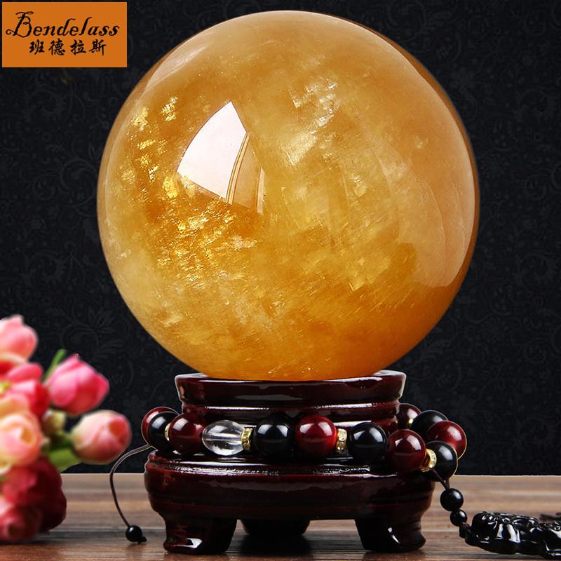Banderas ornements naturels de boule de citydring feng shui ball transfer ball salon décorations de bureau à domicile