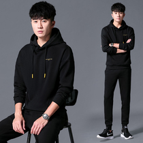 Sweater mens hooded spring and autumn 2020 new tide handsome a spring ins leisure sports suit men