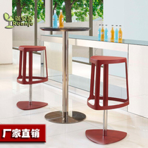 Simple and modern personality design leisure office front desk KTV entertainment bar stool stool b287 spot