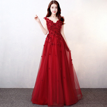 Red maternity Spring Summer Party Dress