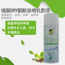 Hand self-spraying wall lacquer wall DIY refurbished painting wall putty paste white inner wall repair compound latex paint