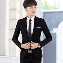 Suit suits men han version slim groomsmen groom marriage dress business casual occupation small suit jacket male