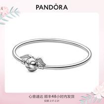 (Новый)Pandora официальный сайт pandoramoments Гарри Поттер серии золотой снитч цепи браслет