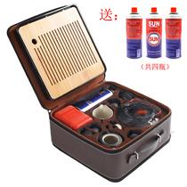 Travel outdoor tea set portable brewed tea stove car kung fu tea set car car field kettle to drink tea to make tea