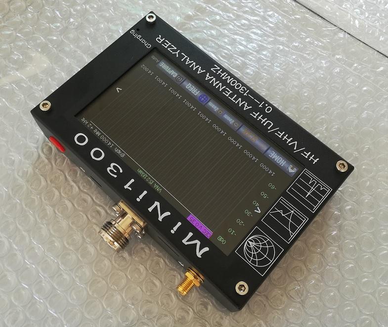 MINI1300 full-band touch screen vector VNA antenna analyzer signal high science