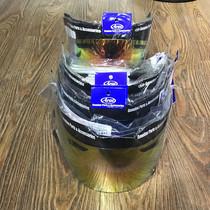 Оригинал подлинный оригинал Япония импортировала ARAI RX-7X покрытие красный синий зеленый чай черный объектив анти-туман наклейки