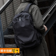 HK Shoulder Bag Men's Simple Bookbag Fashion Leisure Computer Bag Travel Portable High School Students Backpack