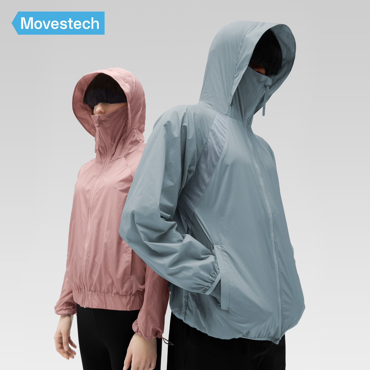 Banana cool skin M506P couple sunscreen summer thin long-sleeved anti-UV breathable outdoor sports sun protection