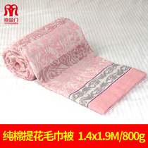 Xiyingmen summer Japanese-style towels are cotton single adult vintage towel blanket summer thin nap blanket cotton