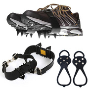 MUXINCAMP type antiskid shoe cover gourd crampons snow snow mountain climbing gear tooth claw chain 5 hobnail shoes