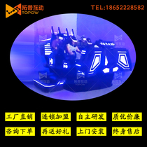 Factory direct sales 9dvr body sense game console large 6-seat warship vr roller coaster vr experience hall equipment