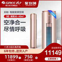 Gree Gree KFR-72LW 3 smart variable frequency cold and warm air conditioning first-class living room vertical cabinet official