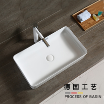 Nordic Terrace washbasin washbasin toilet ceramic basin Square rectangular home basin wash Pool