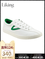 Tretorn Nyliteplus GOGOBOI recommends retro trendy canvas small white shoes sports casual shoes