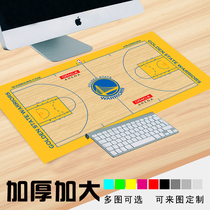 Customized NBA Stadium Star Team Logo Super Rat Pad Warrior Knight Lakers Memorial Gift Tablemat