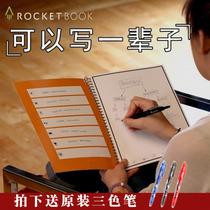 Rocketbook Smart Notebook Portable Creative Diary storage Small Business handwriting electronic notepad