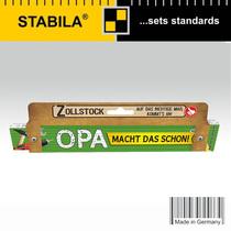 West Germany baomu folding ruler custom 30043