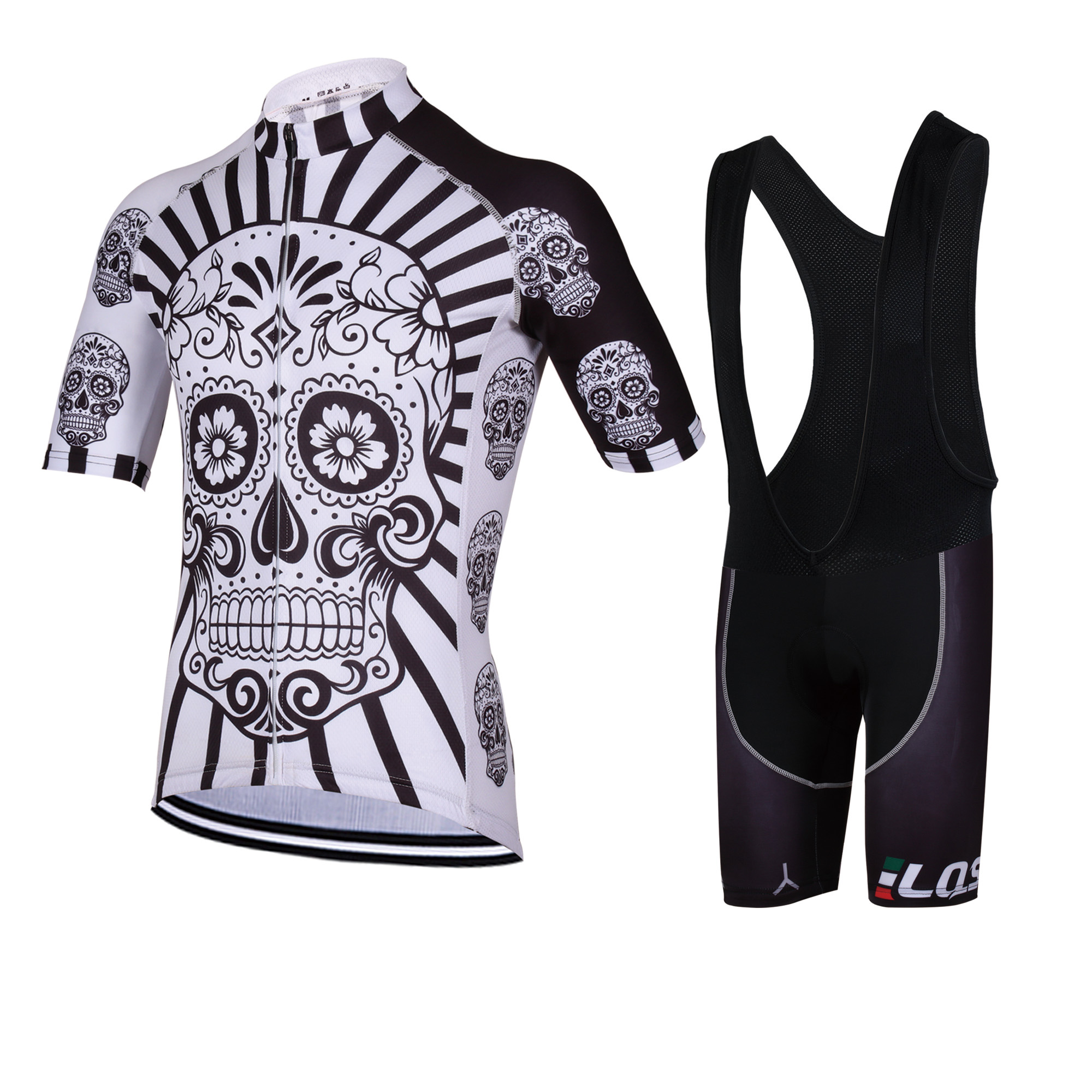 LQS New Short-sleeved Cycling Suit