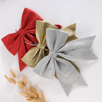Christmas decorations 32cm onion fans with Christmas bows Christmas tree decoration accessories holiday supplies