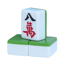First-class household mahjong brand large hand ink green 40 42mm38 medium leather tablecloth