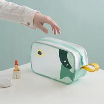 2020 New Super Fire Portable Waterproof Men Travel Washing Cosmetic Bag Cute Japanese Female Korean Pack.