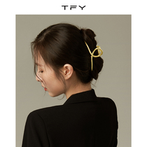 South Korea shark clip hairpin female summer back grab clip hair card metal net red 2021 new clip headdress