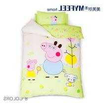 Nursery Quilt Three sets of cotton baby bedding cotton children bedding containing core kits nap quilt
