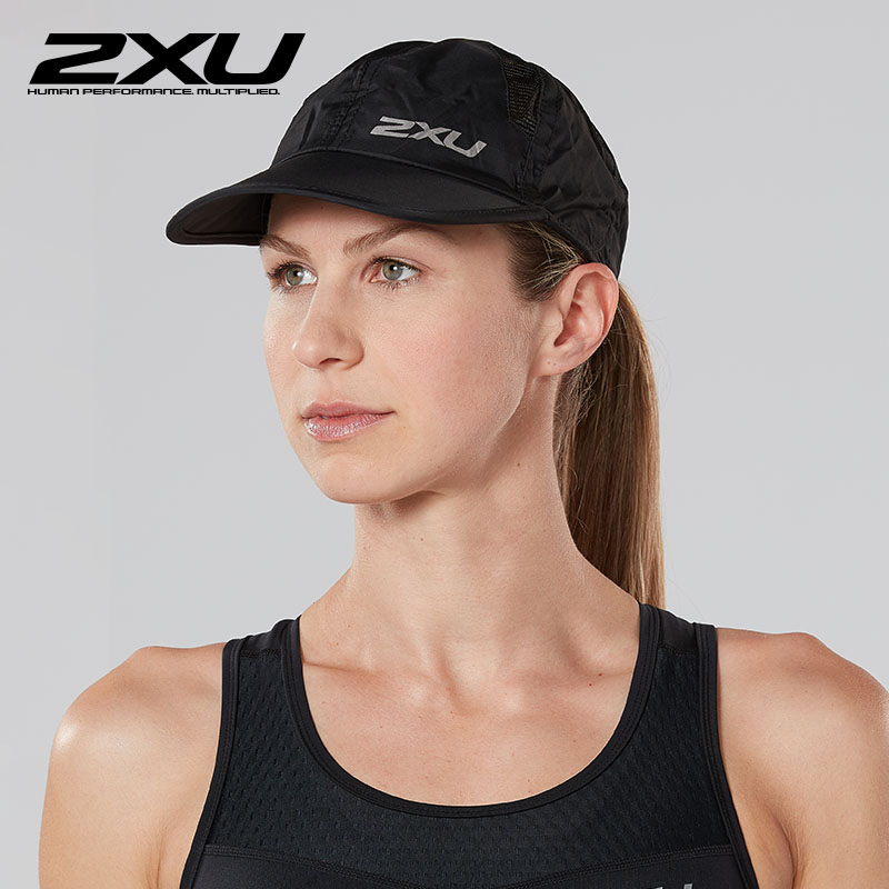 2XU outdoor sports training cap Leisure travel UV protection sunscreen visor cap UR1188f