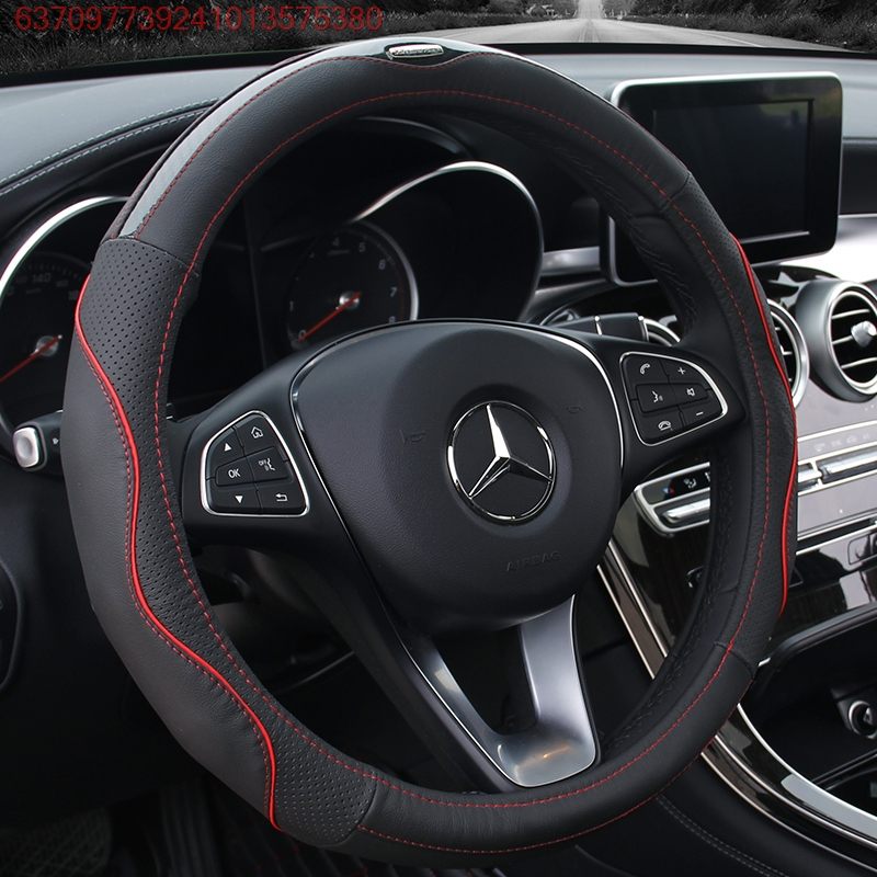 Apply Dongfeng Zhengzhou new sharp 6 pickup handsome guest Junfeng E11K E17 S16P16 steering wheel cover leather